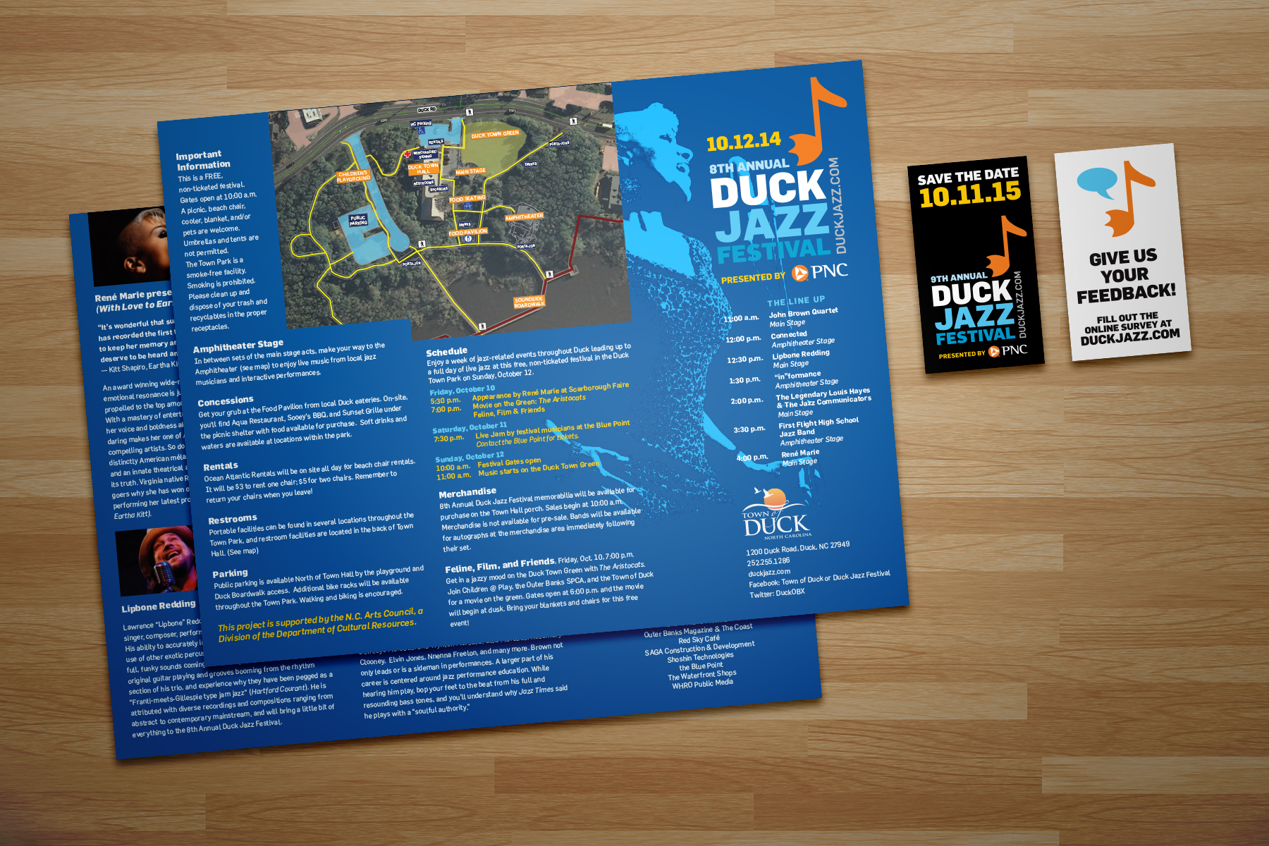 Promotional Posters For Banks Duckjazz Web