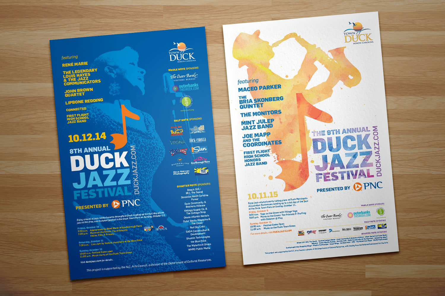 Duck Jazz Festival marketing